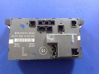 03-06MERCEDES E320 W211 FRONT LEFT DRIVER DOOR CONTROL MODULE OEM 211 820 15 85