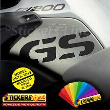 2 Adesivi - GS - Serbatoio BMW R1200gs adventure R1200 GS stickers bmw fino 2012
