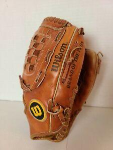 Wilson Dave Righetti Fieldmaster A2654 Leather Grip Tight Baseball Glove