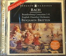 Rare Decca Bach Brandenburg Concertos 1-4 CD Sealed No 1,2 F Major 3,4 G Major
