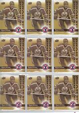 Lot of 100 *** 09-10 Upper Deck UD Wayne Gretzky NHCD #14 Card Mint