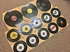 Vintage Lot 13 Game Call Vinyl Records Animal Sounds Hunting 1940s Atco Herter's