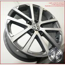 F037 AD 4 CERCHI IN LEGA 7J 17 5X112 ET45 57,1 ITALY PER VW GOLF 5 6 7 GTI GTD *