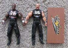 TNA DELUXE IMPACT DUDLEY BOYS JAKKS WWF WWE RARE BOYZ TEAM 3D BUBBA RAY D-VON