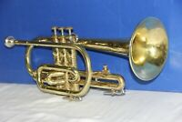 Cornet OLDS Ambassador, Los Angeles,Ca. Great Playing Cornet in Original case