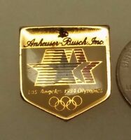 1984 Los Angeles Olympics Anheuser Busch Inc. Sponser Pin