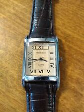 Vintage NOS Womage Roman Numerals watch, running with new battery N