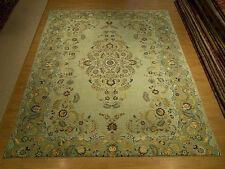 10 x 12 High Quality Handmade Antique Persian Royal Kashan Rug _Soft Kork Wool
