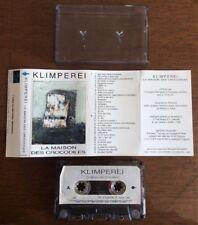 KLIMPEREI ~ La Maison Des Crocodiles ~ cassette tape Minimalist / Experimental