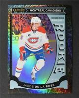 2015-16 O-Pee-Chee Platinum Marquee Rookies Black Ice #M4 Jacob de la Rose /99