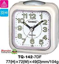 AUSSIE SELLER CASIO ALARM DESK CLOCK TQ-142-7D TQ142 TQ-142 12-MONTH WARRANTY