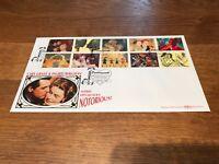 Benham Cover - Greetings Art - Cary Grant/Ingrid Bergman- Hitchcock's Notorious