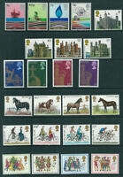 GB 1978 Commemorative Stamps, Year Set~no m/s~Unmounted Mint~UK Seller