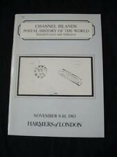 HARMERS AUCTION CATALOGUE 1983 CHANNEL ISLANDS