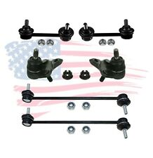 6 Pc Suspension Kit for Toyota RAV4 2001-2005 Front & Rear Sway Bar Ball Joints