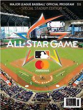 2017 MLB ALL STAR GAME PROGRAM OFFICIAL STADIUM ISSUE VERSION ASG MIAMI MARLINS