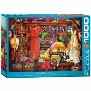 Eurographics 1000 Piece Jigsaw Puzzle - Sewing Craft Room EG60005347