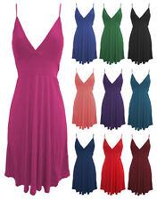 Strappy, Spaghetti Strap Short/Mini Skater Dresses for Women
