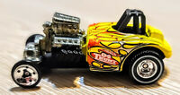 2004 Hot Wheels Altered State, Yellow, Treasure Hunt, Real Riders, Loose