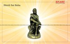 Shirdi Sai Baba Divine Solid Panchdhatu Idol Energised Hindu Statue AD023 India