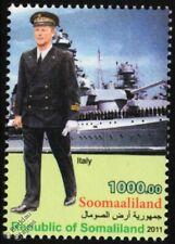 WWII Regia Marina Italian Navy Officer Uniform Stamp/FIUME Heavy Cruiser Warship