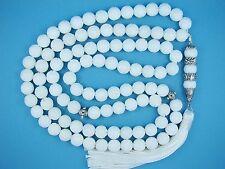10mmx99 carved WHITE CORAL Marjaan PRAYER BEAD ISLAMIC TASBIH MASBAHA QURAN GIFT