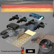 Universal Funk Zentralverriegelung Auto ZV Set mit Türer Klappschlüssel FFB KFZ