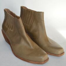 Anthropology Latigo Panama Boots Womens 9M Ankle Bootie Cowbody Chelsea Leather
