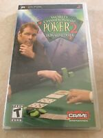 World Championship Poker 2 Featuring Howard Lederer (Sony PSP, 2005) PSP NEW