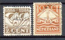 Nederland  139 - 140 gebruikt
