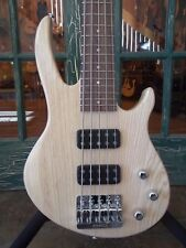2017 Gibson EB 5 String Electric Bass Guitar Natural Satin w/ Gibson Bag
