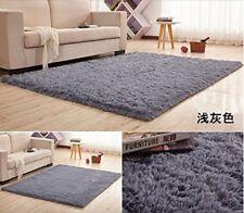 Super Soft Silk Wool Rug Indoor Modern Shag Area Rug Silky Rugs mat 120*160cm