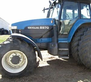 Made to Fit FORD NEW HOLLAND MFWD FENDERS LH/RH