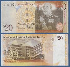 TONGA  20 Pa`anga (2008) UNC  P.41 b