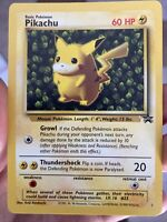 PIKACHU (Ivy) - WOTC 1999 Pokemon - First Black Star Promo League Card #1 Cards