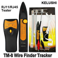 Telephone Wire Tracker RJ11 RJ45 Cat5 Cat6 Toner Ethernet Network Cable Tester