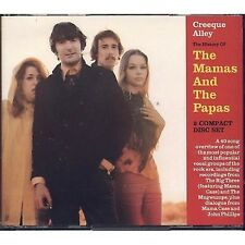 THE MAMAS AND THE PAPAS - Creeque alley The history BOX 2 CD 1991 USATO