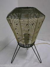 50/60er Lampe de Table Lampadaire Trépied Tiki milieu Century années 50 60s