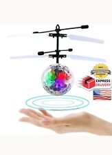 Heli Ball Flying UFO Disco Helicopter Ball RC Toy LED Kids Boys Girls Gifts New
