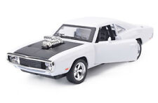 1/32th Light&Sound Dodge Charger Fast & Furious Alloy White Car Model Kid Gifts