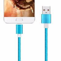 Cable de datos USB-C 3.1 tipo C Macho a USB 2.0 Cordon Color Azul