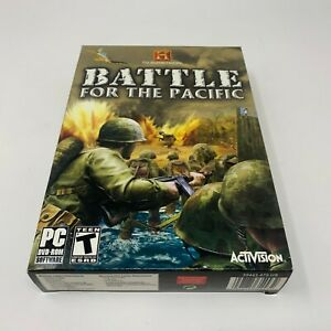 History Channel: Battle For the Pacific - PC (NEW IN BOX)