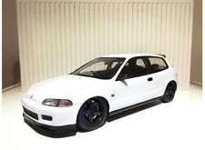 1:18 Tarmac Works Honda Civic EG6 Spoon Group A Racing Plain white NEW