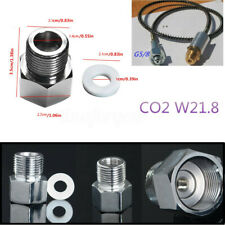 SodaStream CO2 Adapter to W21.8 Aquarium Fish / HomeBrew Beer Keg Tank Regulator