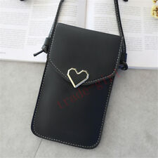 Women/Lady Crossbody Bag Shoulder Leather Wallet Case Small Purse Phone Pouch
