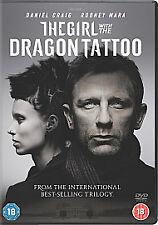 The Girl With The Dragon Tattoo. NEW SEALED. Dvd. Region 2. Daniel Craig