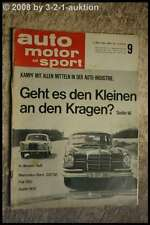 AMS Auto Motor Sport 9/64 DB 220 SE Fiat 850 Austin 1100