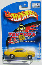 HOT WHEELS 2002 TOKORO'S '70 PLYMOUTH ROADRUNNER COLLECTOR EDITIONS