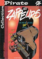 Livre BD pirate les zappeurs  Dupuis book