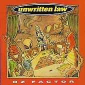 UNWRITTEN LAW - OZ FACTOR NEW CD